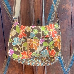 RELIC  Floral Canvas Cross body bag 🌼🌸